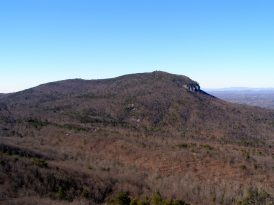 Moore's Knob - from Hanging Rock