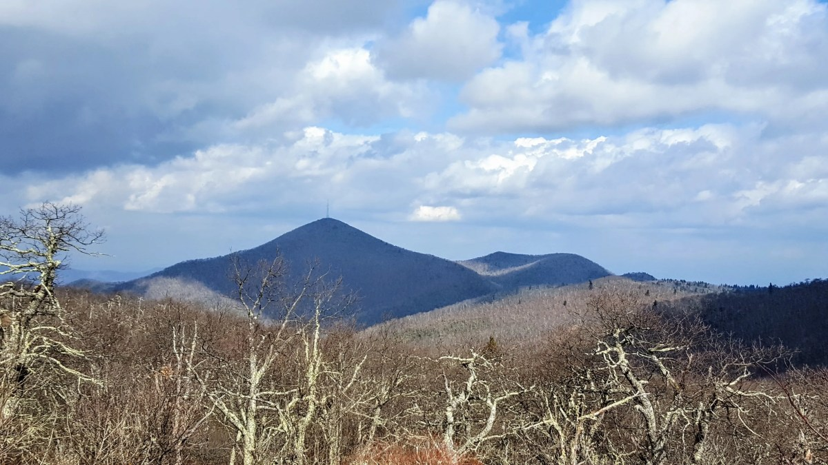 Fryingpan Mountain - Pisgah National Forest, NC