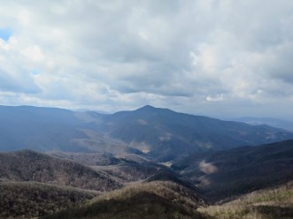 View west of Cold Mountain