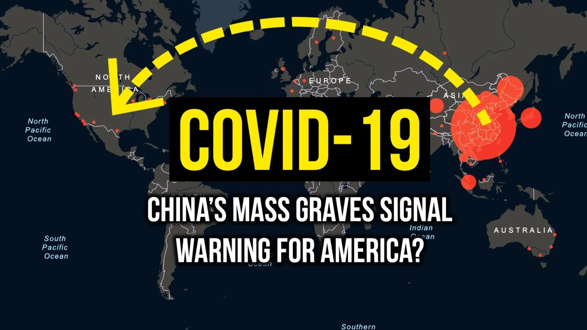 COVID-19: China's Mass Graves Signal Warning for America? - Zach Drew Show