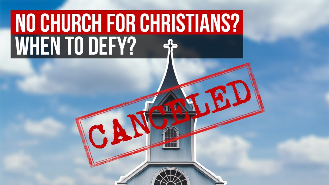 No Church For Christians? When to Defy? - Zach Drew Show