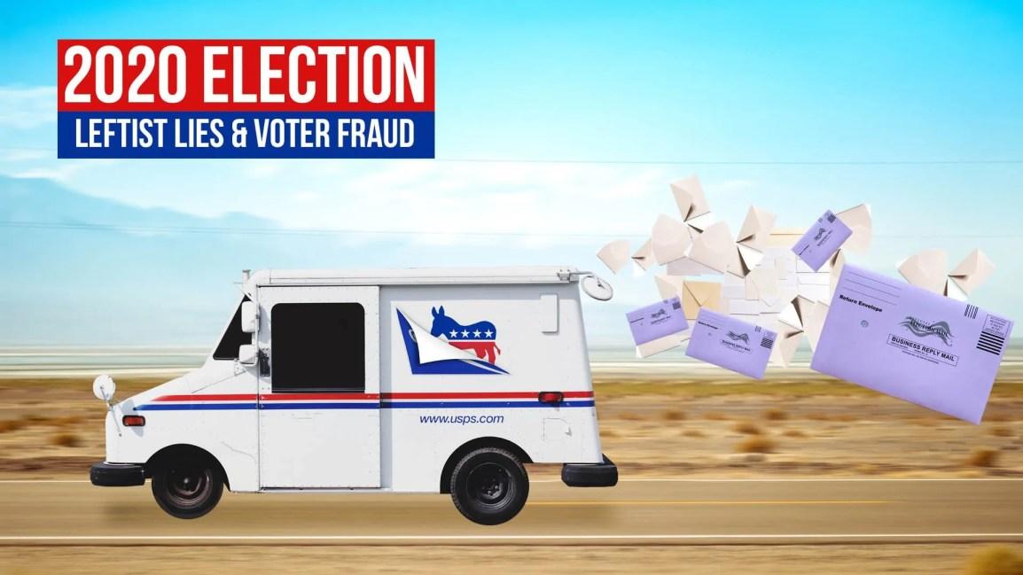 2020 Election: Leftist Lies & Voter Fraud - Zach Drew Show
