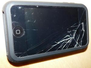 iPod God broken screen