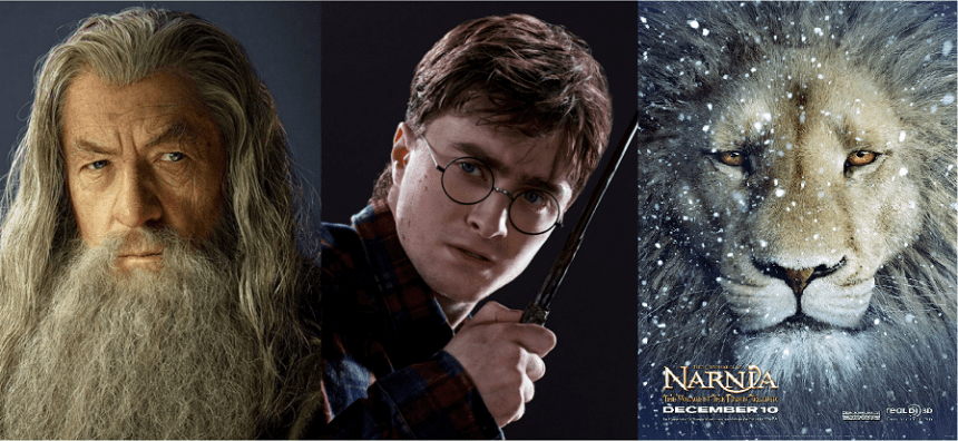 Harry Potter Vs Gandalf Vs Aslan
