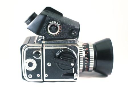 Kiev 88CM with CZJ Flektagon 50mm lens.  Photo by Zach Horton.