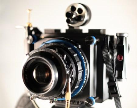 The Mercury, in medium format film mode.
