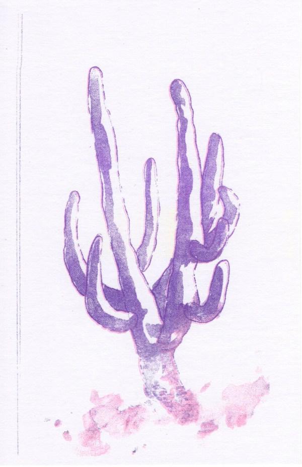 cactus riso print 1