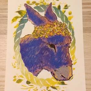 cool mule print
