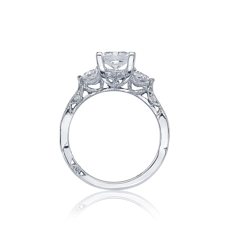 Simply Tacori Three Stone Engagement Ring