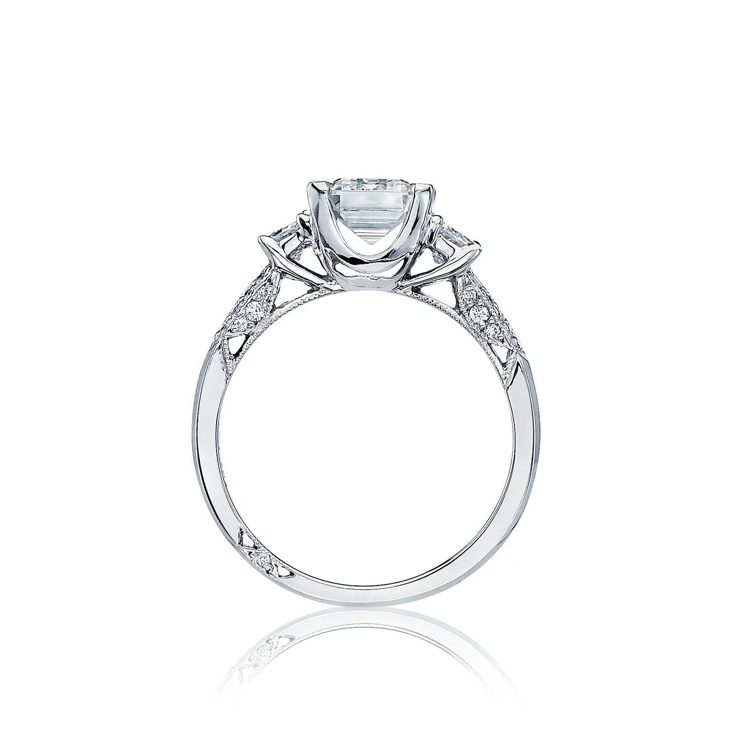 Simply Tacori Three Stone Engagement Ring