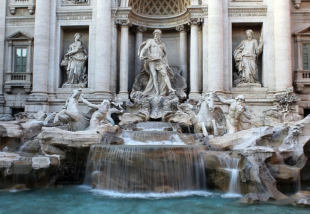 fontanna di trevi