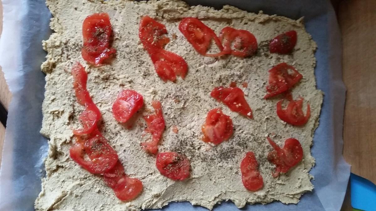 pizza gryczano-cieciorkowa