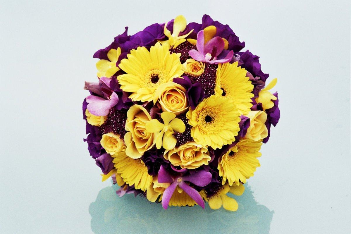 wesele kwiaty