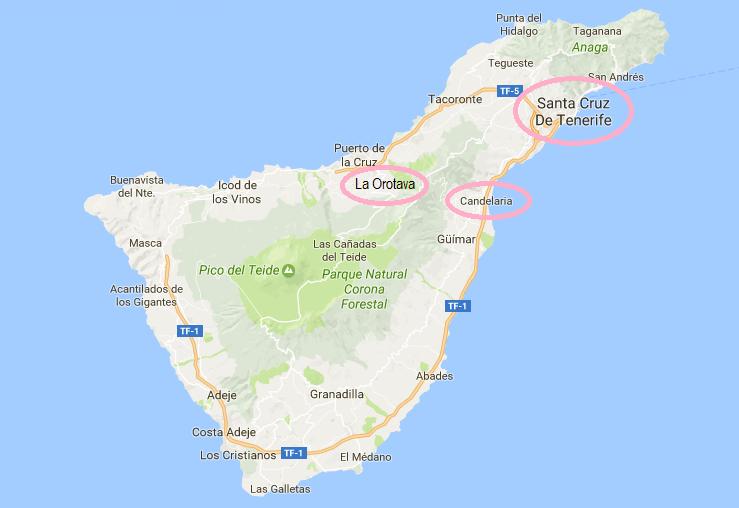 miasta teneryfa