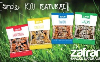 Snacks Naturales: nuevo diseño y nuevo sabor!