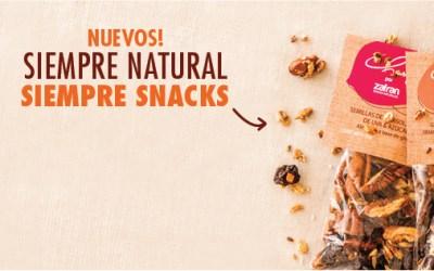 Nuevos snacks naturales: Chungo – zafran