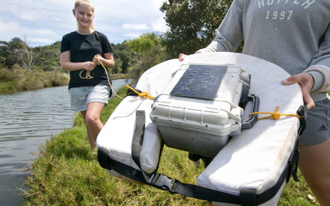 Learning local: Whitianga students find links to global warming in local estuary