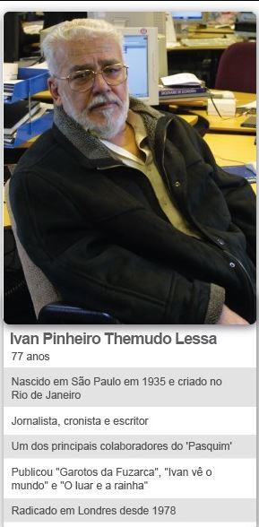 Quem diria: carioca, mas nascido em S. Paulo. Um Bananão pro bairrismo...