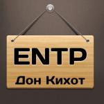Тип — Дон Кихот (ENTP) призвание. Как найти работу по душе?
