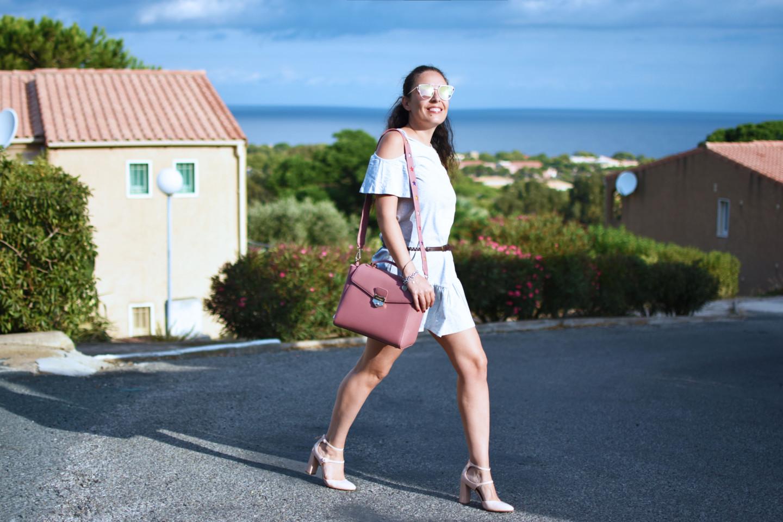 outfit-influencer-pomikaki-bag-collezione-2016-dress-scarpe-da-bambola-pink-valentina-coco