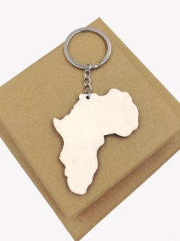 Africa Map Key Holder