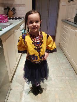 Yellow Children's Dashiki Shirt