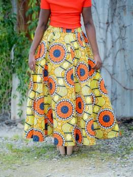 African Print Skirts Australia
