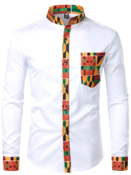 African Formal Shirt (White)