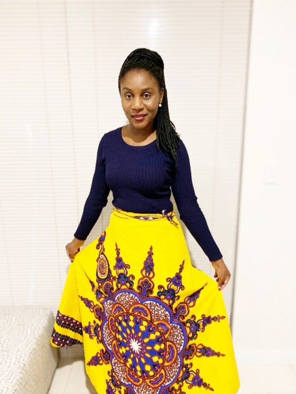 African Wrap Skirt
