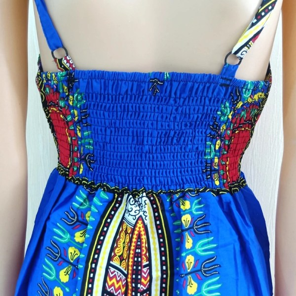 Dashiki Dress Blue