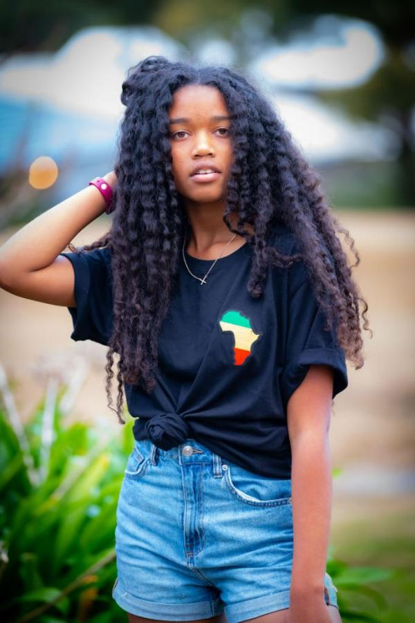 Africa Map Shirt (Black)