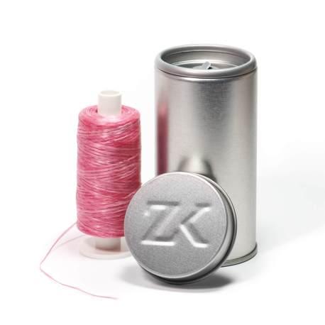 200 m zahnseide rosa gewachst polyester zahnseidenkampagne