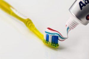 Zahnbürste Zahnpasta für veganer zahnseidenkampagne