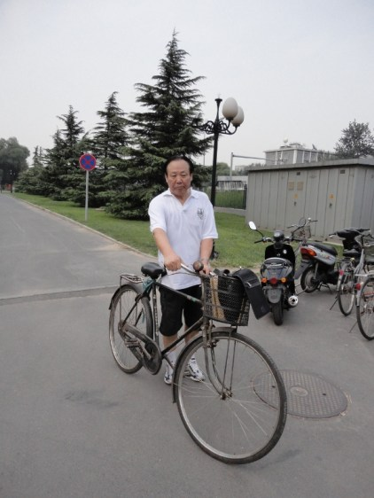El profesor Zhao Zhenjiang.