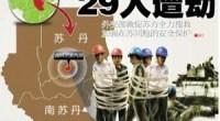 <p>El pasado 28 de enero, un grupo rebelde paró la construcción de una carretera en el sur de Sudán y se llevó consigo a golpe de pistola a 29 trabajadores chinos. La noticia ha conmovido en las últimas horas a los medios de comunicación y ciudadanos del gigante asiático, que temen por la vida de sus compatriotas, que como tantos otros estaban trabajando en obras de infraestructuras en el país africano. <strong>Daniel Méndez</strong>. </p>