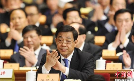Una de las muchas imágenes de Bo Xilai que se han publicado durantes estos días.