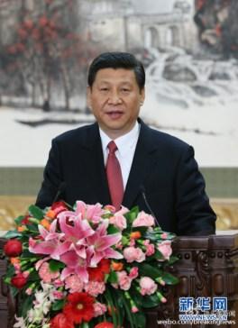 Xi Jinping, el 15 de noviembre en su primera intervención como número uno del Partido Comunista de China.