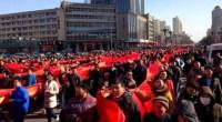 En claro contraste con los tiempos que corren, en la ciudad china de Datong su alcalde ha sido objeto de manifestaciones y proclamas a su favor.