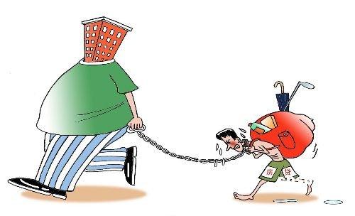 Una de las viñetas publicadas por la prensa china sobre esta cuestión.