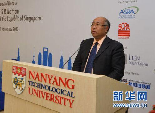 """Yang Yiyong, la persona al frente de la elaboración del """"índice de renacimiento del pueblo chino""""."""
