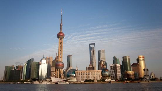 Los rascacielos de Shanghai se han convertido en la imagen de la superpotencia china