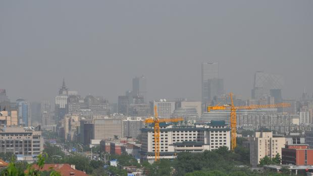 Imagen del centro de Pekín y del distrito financiero. [FOTO: Daniel Méndez]
