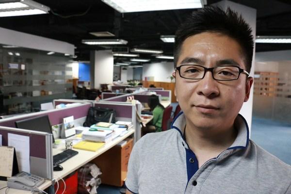 El investigador Ma Junjie en la sede de Unirule. [FOTO: Daniel Méndez]