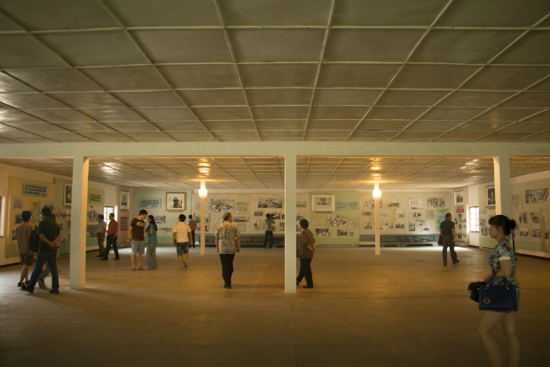 Visita a una de las galerías-museo sobre la Guerra de Corea (FOTO: Daniel Méndez)