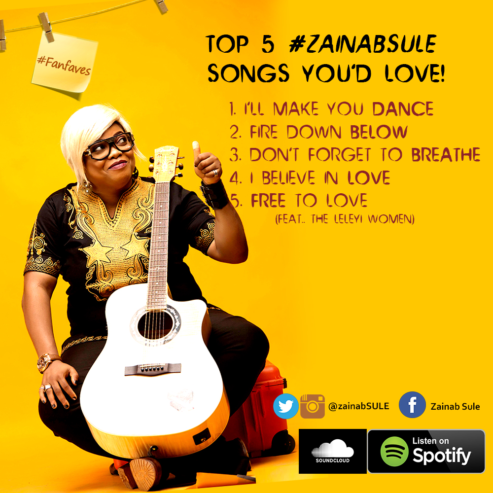 zainab sule music - top five