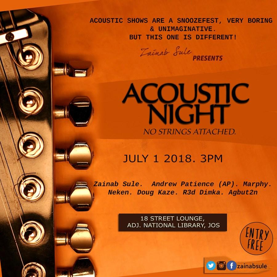 Zainab Sule Acoustic Night