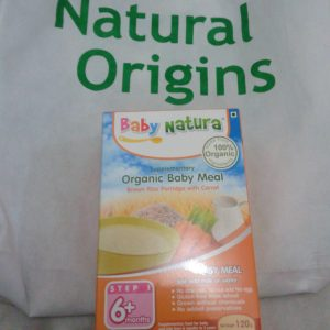 Baby Natura Organic Baby Meal from Natural Origins