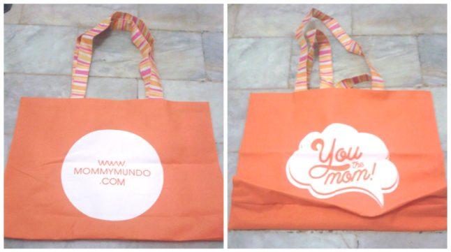 Eco bag upon registration