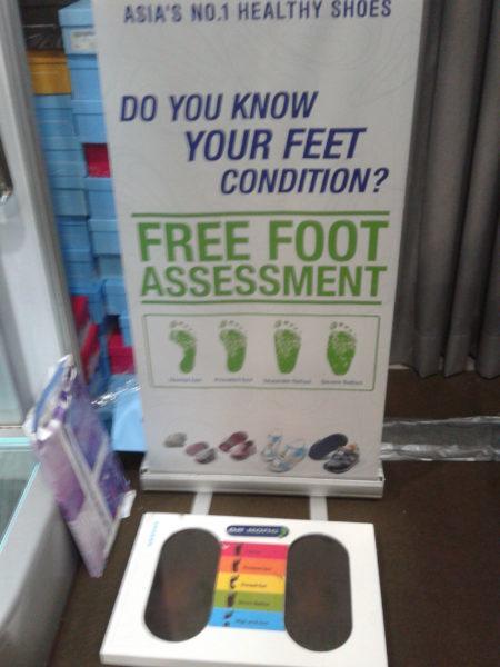 Dr. Kong's foot assesment