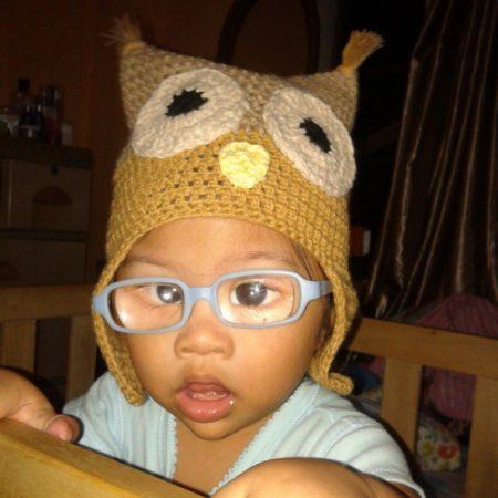 owl hat :D